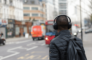 Podcasts are great for commuters