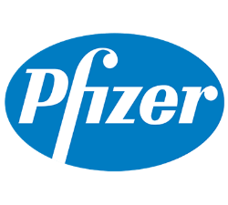 Pfizer logo sanofi