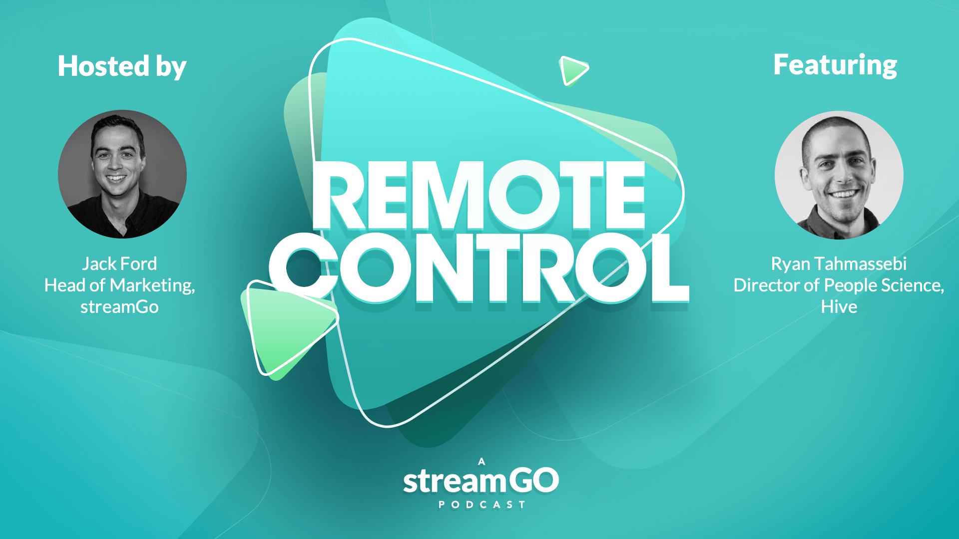 Remote Control - Ryan Tahmassebi