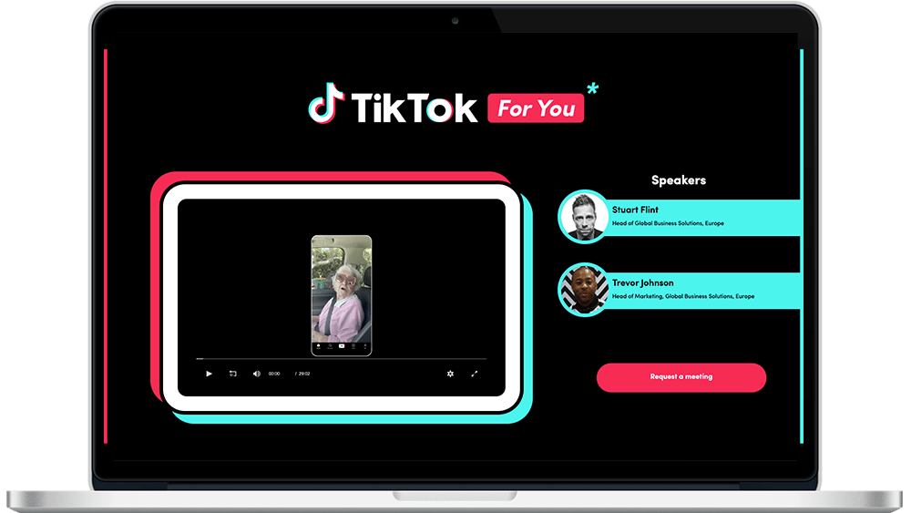 TikTok virtual event