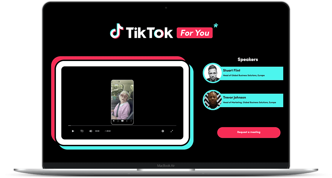 TikTok Macbook