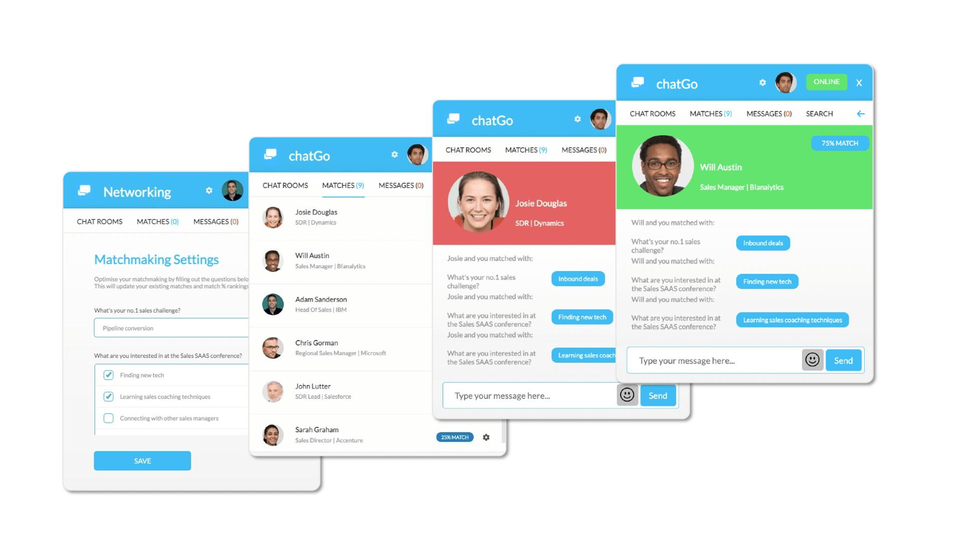 chatGo virtual event networking