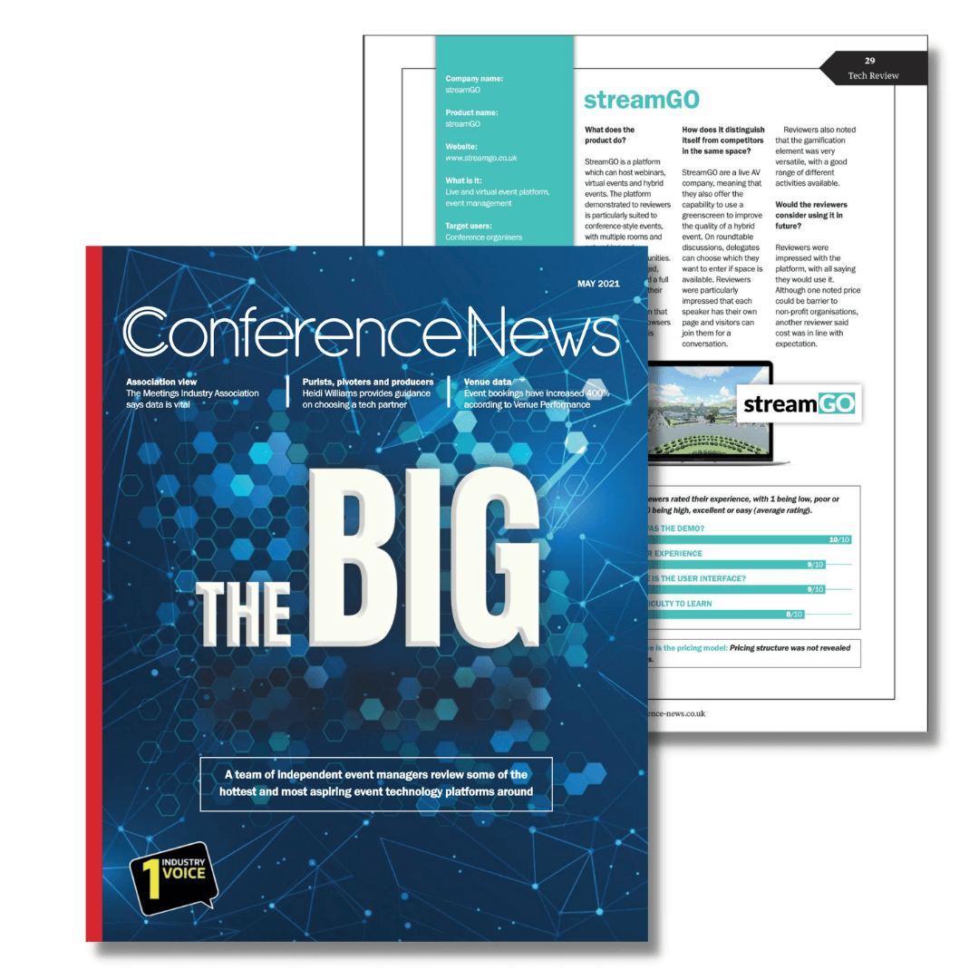 streamGo Conference News