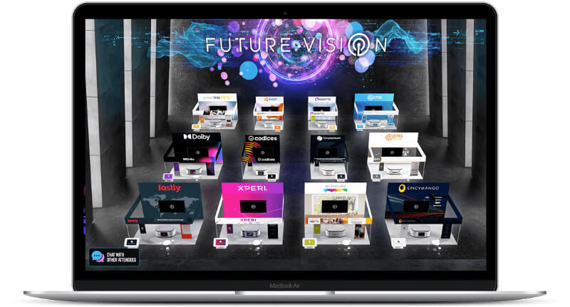 streamGo virtual event exhibitors
