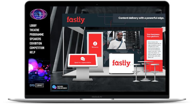 streamGo virtual event sponsor