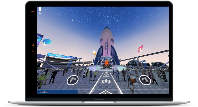 streamGo virtual event 360
